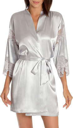 Jonquil In Bloom by Sea of Love Satin & Lace Wrap