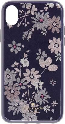 Kate Spade glitter petite posy iPhone X/Xs, Xs Max & XR Case