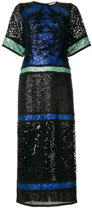 Elie Saab sequinned T-shirt gown
