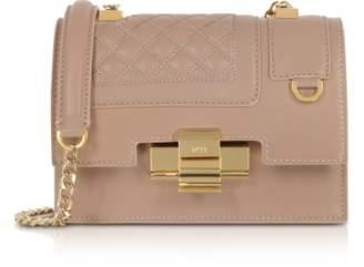 N°21 Powder Pink Quilted Leather Mini Alice Shoulder Bag