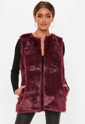 Missguided Faux Fur Gilet
