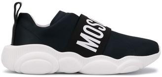Moschino logo slip-on sneakers