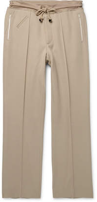 Maison Margiela Virgin Wool-Twill Drawstring Trousers