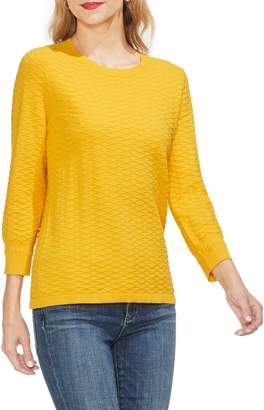 Vince Camuto Rhombus Stitch Sweater
