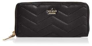 Kate Spade Reese Park Lindsey Zip-Around Leather Wallet