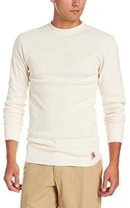 Carhartt Men's Base Force Wicking Cotton Super Cold Weather Crewneck Top
