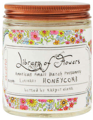 Library of Flowers Honeycomb Luminary, 5 oz.