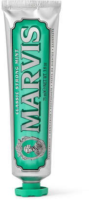 Marvis Classic Strong Mint Toothpaste, 2 x 75ml