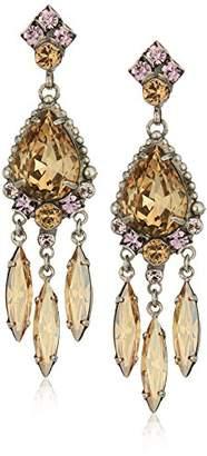 Sorrelli Mirage Fringe Crystal Earrings