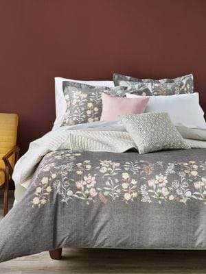 Mariposa Distinctly Home 200 Thread-Count Cotton 3-Piece Duvet Cover Set