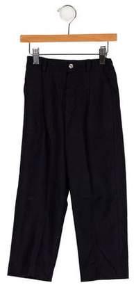Papo d'Anjo Boys' Wool Pleated Pants