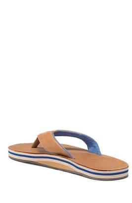 Hari MARI Lakes Leather Flip-Flops