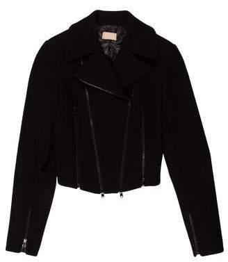 Alaia Wool Biker Jacket