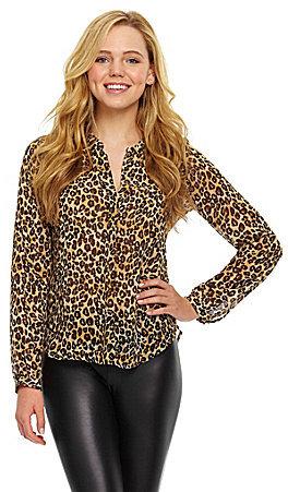 GUESS Leopard-Print Top