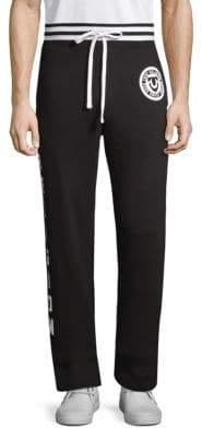 True Religion Cotton Logo Sweatpants
