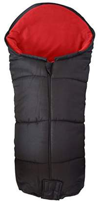 Maclaren Deluxe Footmuff/Cosy Toes Compatible with Techno Pushchair Red