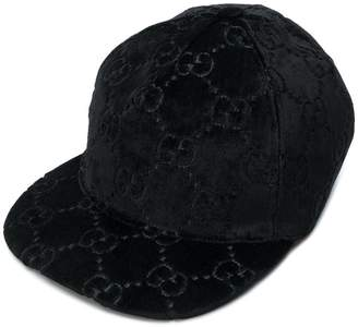 Gucci embossed logo hat