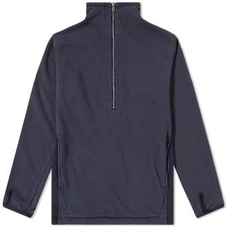 Nonnative Cyclist Half Zip Sweat