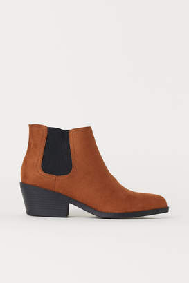 H&M Pointed Chelsea Boots - Beige