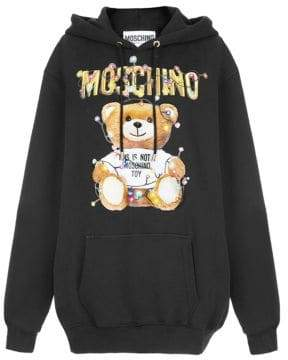 Moschino Christmas Teddy Hooded Sweater