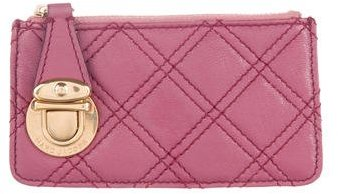 Marc Jacobs Marc Jacobs Quilted Leather Coin Purse