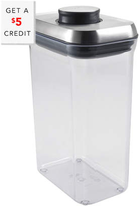 OXO Steel 2.5Qt Pop Container With $5 Rue Credit