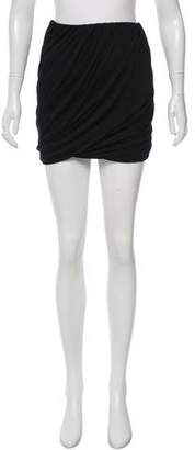 Blumarine Draped Mini Skirt
