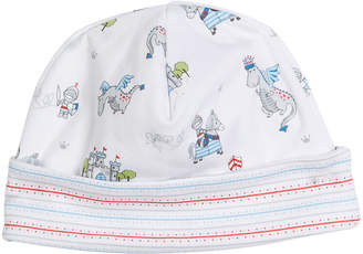 Kissy Kissy King of the Castle Printed Baby Hat