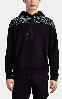 Marcelo Burlon County of Milan MEN'S WINGSPAN COTTON TERRY HOODIE