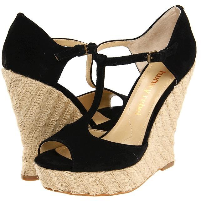 Luxury Rebel Carol (Black) - Footwear