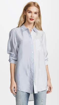 Alexander Wang Long Sleeve Button Down Shirt