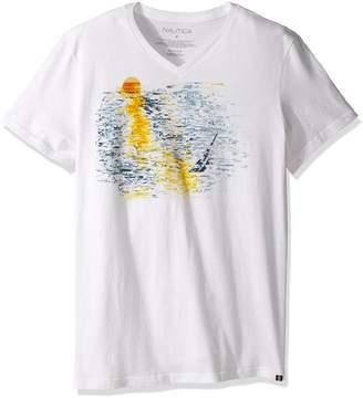 Nautica Men's Short Sleeve Graphic T-Shirt
