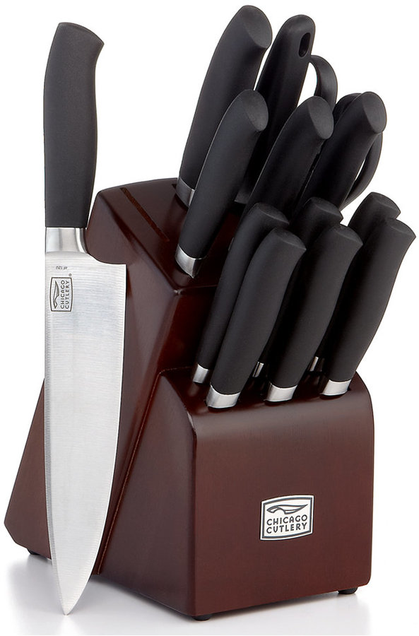 Chicago Cutlery Kinzie, Soft Grip 14 Piece Set