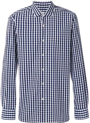 Mauro Grifoni checked button down shirt