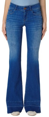 Women's J Brand Love Story Flare Jeans $228 thestylecure.com