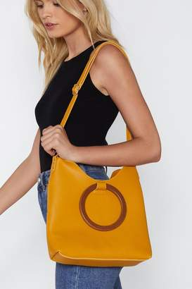 Nasty Gal WANT Wood-ly Day Tote Bag
