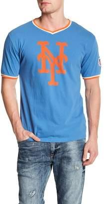 American Needle Eastwood V-Neck Tee NY Mets