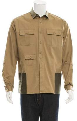 Valentino Woven Utility Shirt w/ Tags