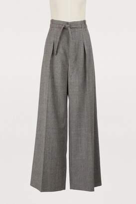 Roland Mouret Wide-fit pants
