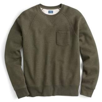 J.Crew J. CREW Textured Pique Fleece Sweatshirt