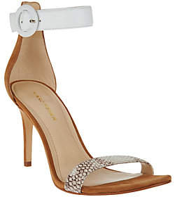 Marc Fisher Leather Sandals w/ Ankle Strap -Bettye