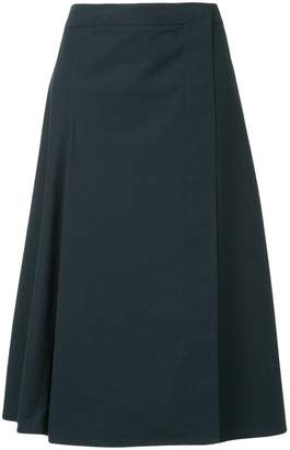 Lemaire A-line midi skirt