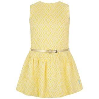 Oilily OililyYellow Diamond Jacquard Djazlle Dress