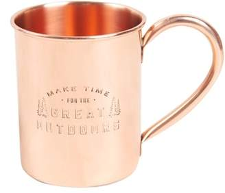 United By Blue Engraved Copper Mug