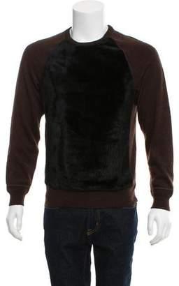 Louis Vuitton Fur Crew Neck Sweater