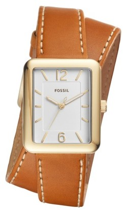 Women's Fossil Atwater Leather Strap Watch, 28Mm $135 thestylecure.com