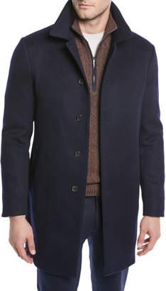 Loro Piana Men's Sidney Cashmere Coat