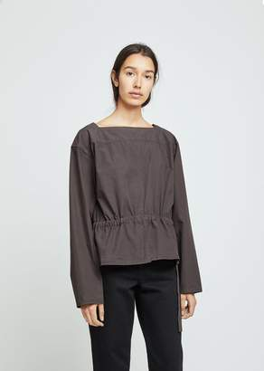 Lemaire Gathered Poplin Blouse