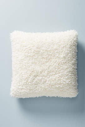 Anthropologie Fuzzy Faux Fur Pillow
