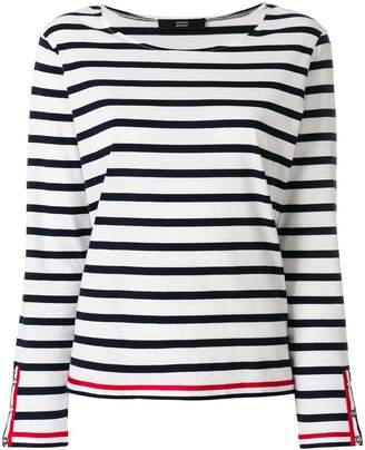 Steffen Schraut striped blouse